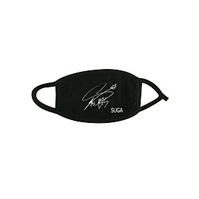 Khẩu trang có chữ ký của SUGA BTS IDOL