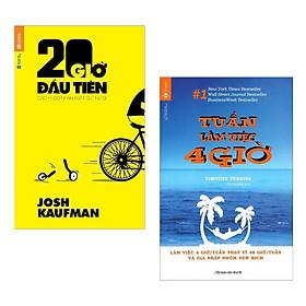 Combo Sách Hoàn Hảo Về Quản Lý Thời Gian: 20 Giờ Đầu Tiên + Tuần Làm Việc 4 Giờ (Bộ 2 Cuốn - Tặng Kèm Bookmark Green Life)
