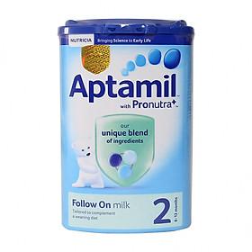 2 Hộp Sữa Bột Aptamil 2 Follow On Milk (900g)-0