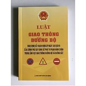 Sách - Luật giao thông đường bộ và Nghị định số 100