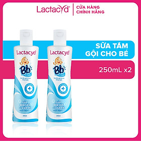 Bộ 2 Chai Sữa Tắm Gội Trẻ Em Lactacyd Bb 250ml/chai
