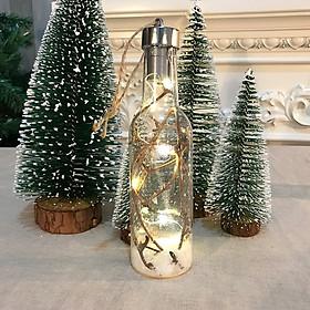 Quả Cầu Nhựa Trong Suốt Trang Trí Giáng Sinh