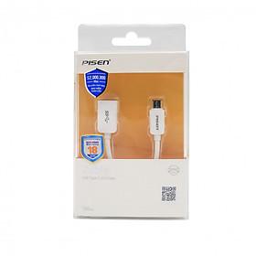 Cáp Pisen Type-C to OTG USB 3.0 - Hàng chính hãng