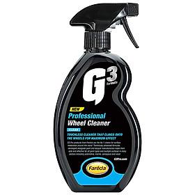 Chai xịt vệ sinh mâm xe Ô tô, xe máy G3 Pro Wheel Cleaner