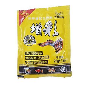 Combo 3 túi thức ăn cá bảy màu