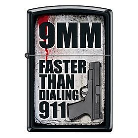 Bật Lửa Zippo 218 9mm Is Faster Than 911