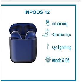 Tai Nghe Bluetooth blutooth Không dây  AP 12 i12 giống Aip 2 chuyên Gaming dùng cho iphone và android