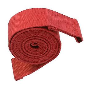 Đai Tập Yoga Cho Phụ Nữ (3.8 X 180 Cm) - Đỏ-3