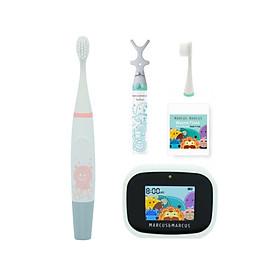 Bộ bàn chải tập đánh răng Premium cho bé từ 3 tuổi Marcus & Marcus - Pokey