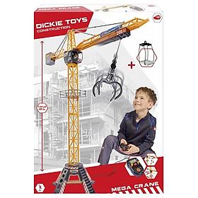 Bộ Đồ Chơi Xe Cẩu Công Trường Mega Crane Set DICKIE TOYS 203462412 - 120cm
