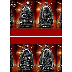 Dây chuyền mặt Phật Độ Mệnh đủ các tuổi nam nữ V37