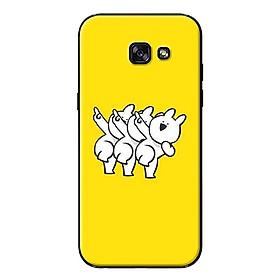 Ốp lưng dành cho Samsung Galaxy A7 (2017) - Thỏ Tạo Dáng