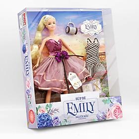 Đồ Chơi Búp Bê Cho Bé -  Búp bê Emily - Người mẫu thời trang DK 81033