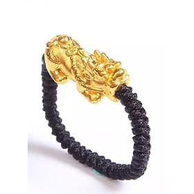 Nhẫn Tỳ Hưu Thiên Lộc vàng 24K Handmade - Ancarat