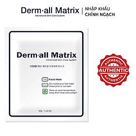 Mặt nạ thạch collagen dưỡng căng da Dermall Matrix 35g