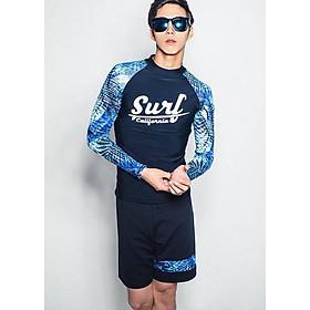 Đồ Bơi Nam Tay Dài Nam Tay Xanh Surf