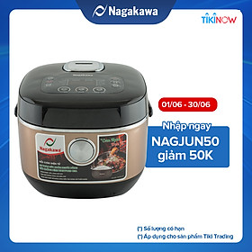 Nồi Cơm Điện Tử Nagakawa NAG0123 (1.5 Lít) - Hàng Chính Hãng