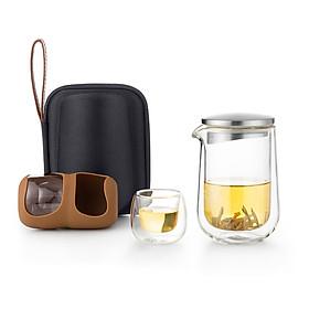 Bộ bình trà di động Samadoyo L005 260ml