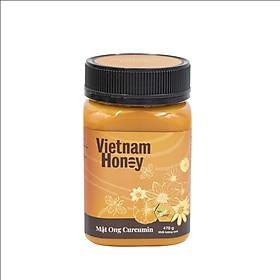 Mật ong Nghệ Curcumin 470g-VIETNAMHONEY