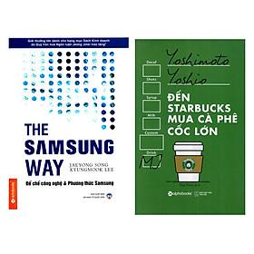 Combo Đến Starbucks Mua Cà Phê Cốc Lớn + The Samsung Way - Đế Chế Công Nghệ Và Phương Thức Samsung