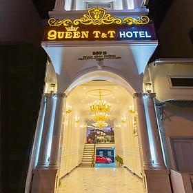 Queen T&T Hotel 3* Đà Lạt - Gồm Bữa Sáng, Khách Sạn Ngay Trung Tâm, Gần Chợ  & Hồ Xuân Hương