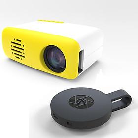 Combo máy chiếu mini cầm tay vời thiết bị HDMI ,mang cả thế giới phim trong tay bạn, thiết kế nhỏ gọn, dễ dàng sử dụng  CS-03-G2