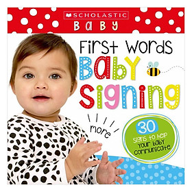 Hình đại diện sản phẩm Scholastic Early Learners: Touch And Feel Baby Signs ( Scholastic Early Learners)