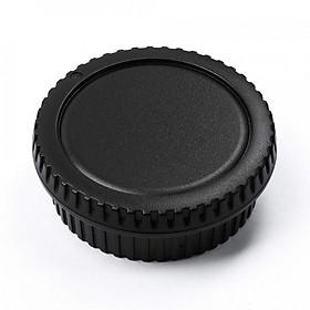 Bộ Nắp cáp đậy body và cáp đuôi lens ống kính cho máy ảnh Nikon DSLR