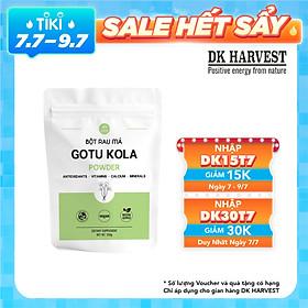 Bột Rau Má Sấy Lạnh DK Harvest - Siêu mịn như Matcha (10-20 micron)