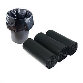 Bộ 3 cuộn ( 1kg ) túi đựng rác 55 x 65cm tự phân hủy sinh học bảo vệ môi trường cao cấp