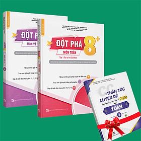 Sách - Combo Đột phá 8+(Phiên bản 2020) môn Toán tập 1(đại số và giải tích) và Vật lý tập 1 (Tặng ngay 1 cuốn CC thần tốc luyện đề 2020 môn toán tập 2)