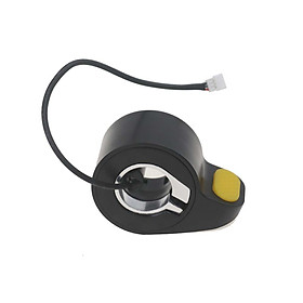 Electric Scooter Accelerator Electric Scooter Acceleration Device Yellow Speed Dial Thumb Trigger Shifter Replacement