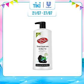 Sữa tắm detox bụi mịn Lifebuoy Than Hoạt Tính và Bạc Hà 850G