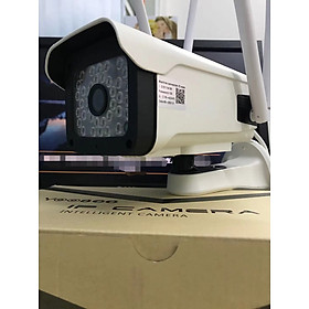 Camera Wifi Yoosee 3.0 Mpx Full HD, Dòng Ngoài Trời Xoay 360° 4 râu 20 LED Xem Đêm Có Màu-Đàm Thoại 2 Chiều-Phát Hiện Chuyển Động Chống Trộm-Hàng Nhập Khẩu