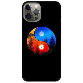 Ốp lưng dành cho Iphone 12 - Iphone 12 Pro - Iphone 12 Pro Max mẫu Âm Dương