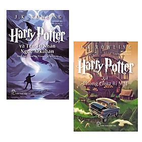Combo Tác Phẩm Thu Hút Nhiều Bạn Đọc Nhất Tháng: Harry Potter Và Tên Tù Nhân Ngục Azkaban - Tập 3 (Tái Bản 2017) + Harry Potter Và Phòng Chứa Bí Mật