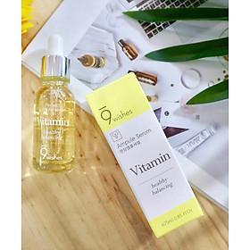 Tinh Chất Dưỡng Ẩm, Tái Tạo và Phục Hồi Da 9Wishes Mega Vitamin Ampule Serum 25mL
