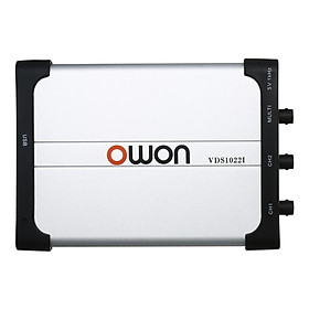 Owon VDS1022I Dual-channel Oscilloscope PC Oscilloscopes Virtual USB Oscilloscope 25MHz Bandwidth 100M/s Sampling Rate