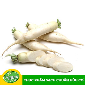 Củ cải trắng hữu cơ Organicfood - 350g