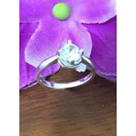 Hình đại diện sản phẩm Nhẫn bạc nữ , nhẫn nữ bạc 925, nhẫn bạc nữ ổ cao gắn đá , nhẫn nữ 100% bạc cao cấp NU21 trang sức Bạc QTJ