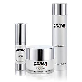Bộ 3 dược mỹ phẩm chăm sóc da chống lão hóa Caviar of Switzerland