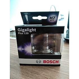 Bóng đèn tăng sáng Bosch  H7 12V 55W Plus + 120% . Hộp 2 Bóng , đèn sương mù , đèn cốt , đèn pha
