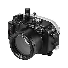 Vỏ Bảo Vệ Máy Ảnh Chống Thấm Nước Meikon Cho Canon G7X Mark II (40m/130ft)