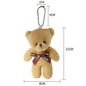 Móc khóa gấu treo balo túi