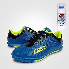 Giày đá bóng trẻ em EBET 6302 Xanh dương - Tặng bình làm sạch giày cao cấp
