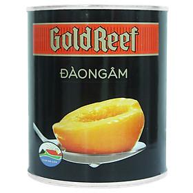 Hình đại diện sản phẩm Đào Ngâm Gold Reef Hộp 825g
