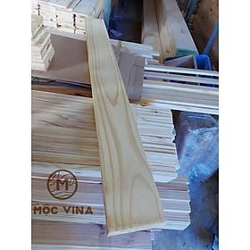 Combo 3 tấm gỗ thông mới đẹp dày 3cm,rộng 12cm,dài 120cm bào láng đẹp 4 mặt thích hợp trang trí, làm kệ Mộc Vina