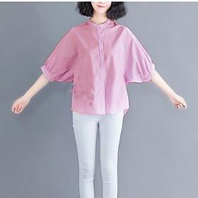 Áo sơ mi form rộng kẻ sọc thời trang mặc đi làm, dạo phố - có nhiều size và màu, form dáng chuẩn