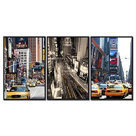 Decal trang trí tường taxi New York Hoa Kỳ Tipo_019