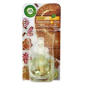 Lọ tinh dầu thiên nhiên Air Wick Christmas Cookie 19ml QT06511 - bánh quế nướng